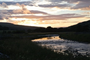 Sunset in Littondale